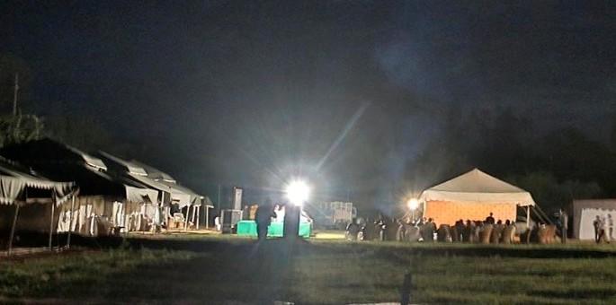 Luxury Tents at Holla Mohalla