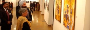 Exhibition at India Habitat Center, Delhi