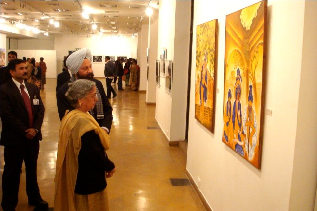 Exhibition at India Habitat Center, Delhi