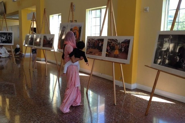 Exhibition at San Jose Gurudwara, California, USA