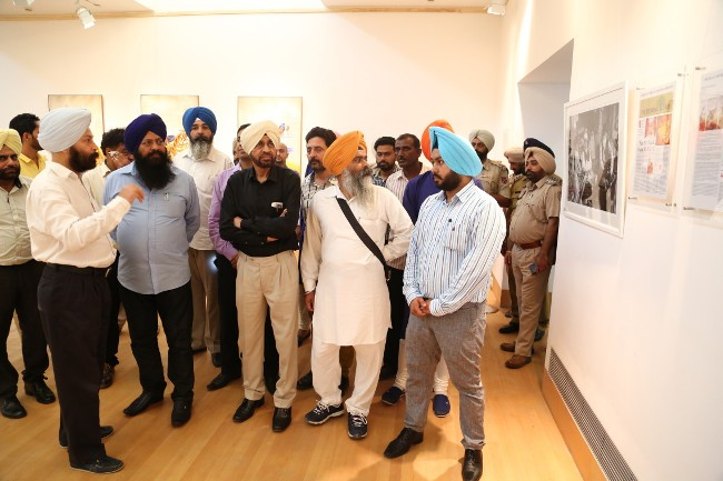 Exhibition at Virasat e Khalsa, Anandpur Sahib, Punjab